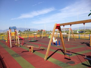 20.01 Childrens swing 22.01 Wooden Seesaw